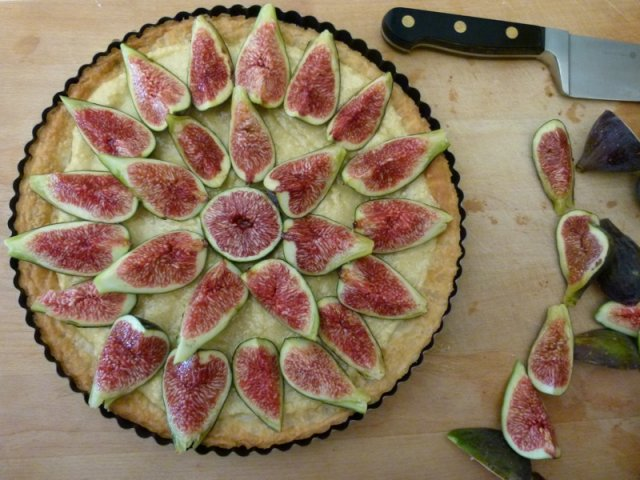 Fig Tart Pre Cooking