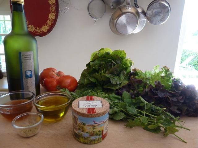 Ingredients Herb Vinaigrette