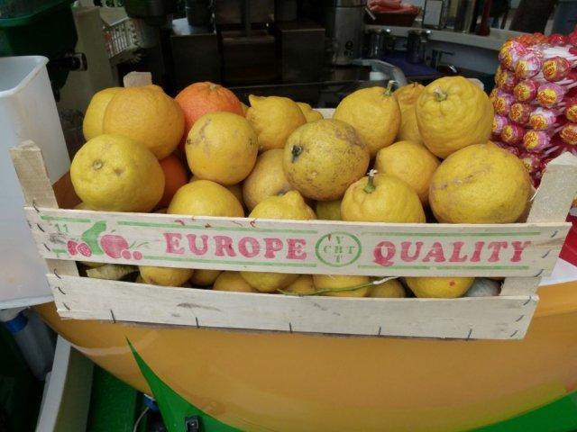 Menton Lemons!
