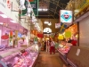 Main aisle of the market