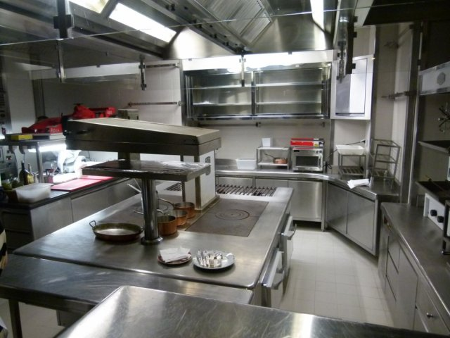 Kitchen of Hotel de Paris