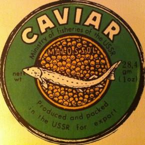 Caviar Topped Deviled Eggs