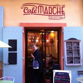 Gourmet lunch at Café Marché in Nice