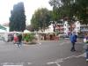 Market in a parking lot