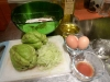 Mise en place: Chayote