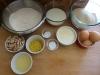 Ingredients for Lemon Bread