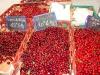 Local sour cherries