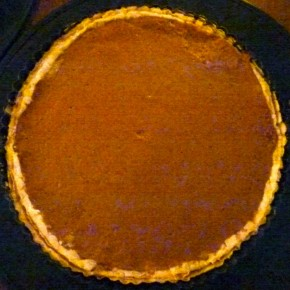 Roasted Pumpkin Ginger Pie