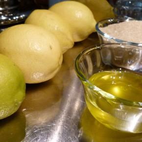 Olive Oil Sorbet